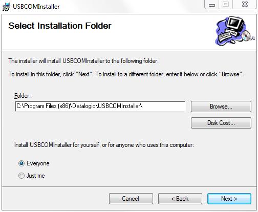 USB COM Driver, QD2430