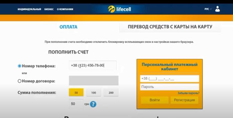 Сервис оплаты связи онлайн